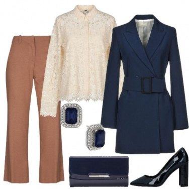 Outfit Io trench anche per le cerimonie