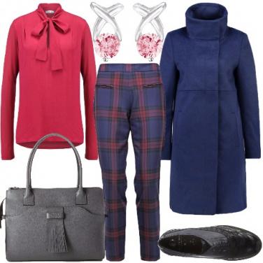 Outfit A lavoro con colore