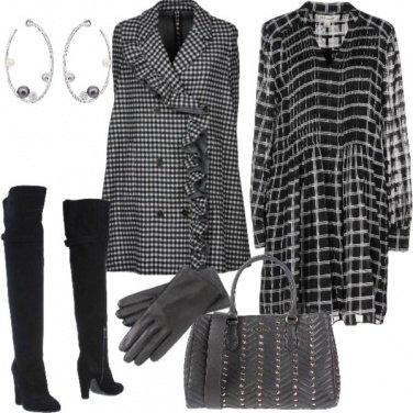 Outfit Quadri e SWAROVSKI
