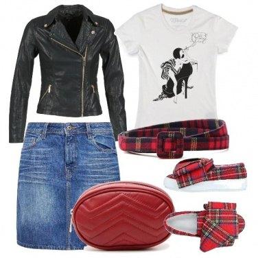 Outfit Accessori tartan