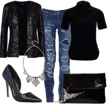 Outfit Vivo in jeans