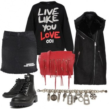 Outfit Amore rock