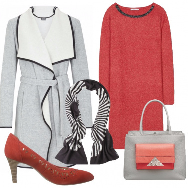Outfit Colore in una giornata d\'inverno