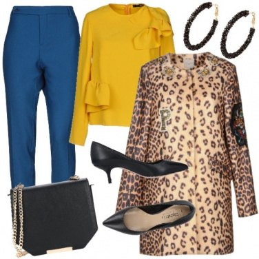 Outfit Soprabito animalier