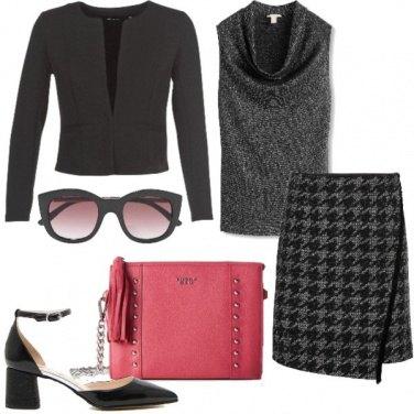 Outfit In ufficio con il tacco comodo