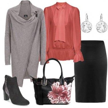 Outfit Quasi mamma elegante