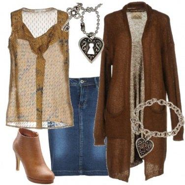 Outfit La chiave del cuore rock!!!
