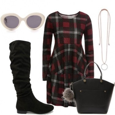 Outfit Abito oversize