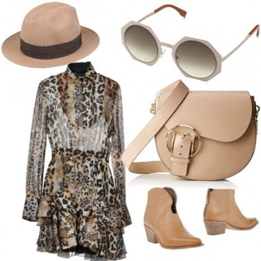 Outfit Sauvage casual chic