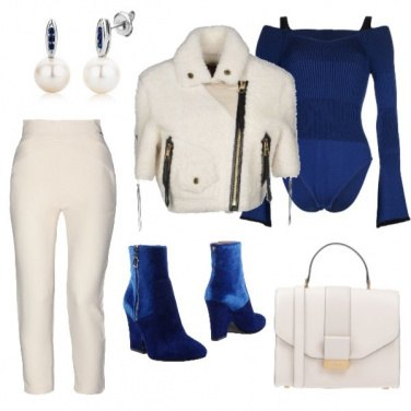 Outfit Nel blu dipinto