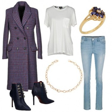 Outfit Tartan casual