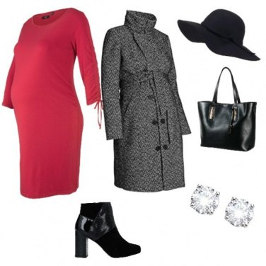 Outfit Mamma d\'autunno