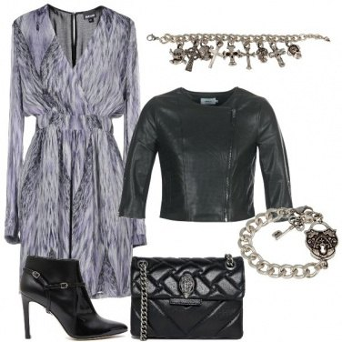 Outfit Animalier astratto