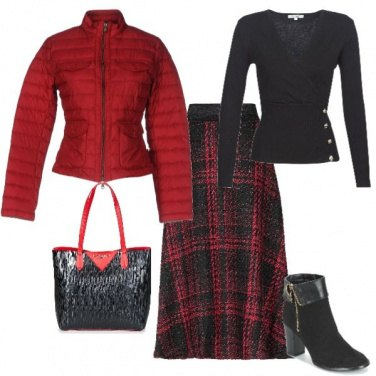 Outfit Inverno scozzese