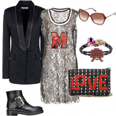 Outfit Contrasti di stile