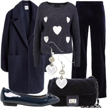 Outfit Cuore al caldo