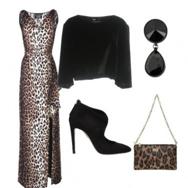 Outfit Inverno animalier