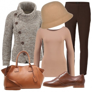 Outfit Sfumature di marrone