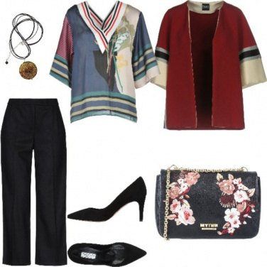 Outfit Etnico, colori d\'oriente