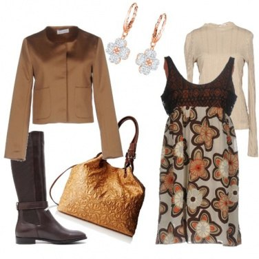 Outfit Fiori d\'autunno