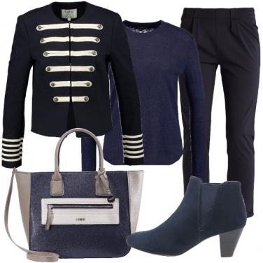 Outfit Tendenza alamari