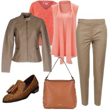 Outfit Arancio autunnale