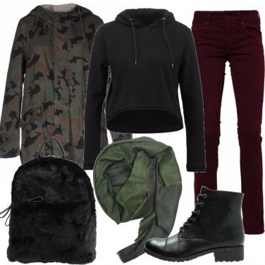 Outfit Modalità mimetica