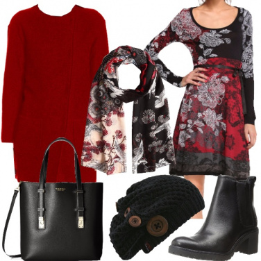 Outfit Stampe floreali orientali