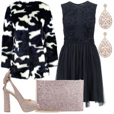 Outfit Per una cerimonia invernale