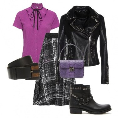 Outfit Rock inglese