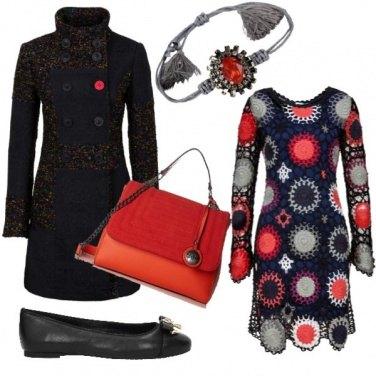 Outfit Uncinetto e bottoni