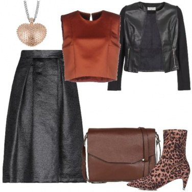 Outfit Autunno rock