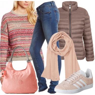 Outfit La dolcezza del rosa