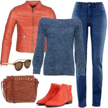 Outfit Caldo maglioncino