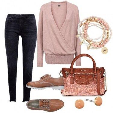 Outfit Rosa in una bella giornata