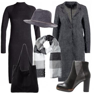Outfit Sofisticata in grigio