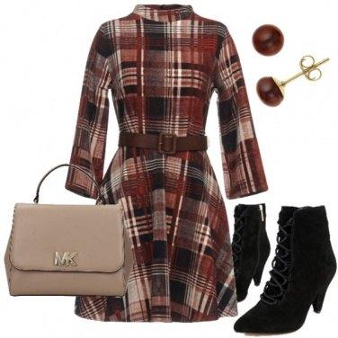 Outfit Un vestitino scozzese