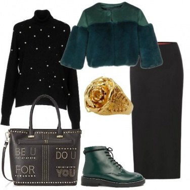 Outfit Green rock