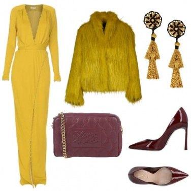 Outfit L\' abito da sera giallo