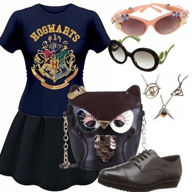 Outfit Hogwarts style