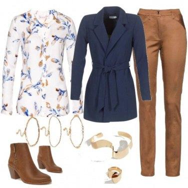 Outfit Semplicità autunnale