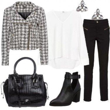 Outfit La giacca jacquard