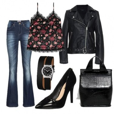 Outfit Romantic Rock