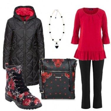 Outfit Anfibio fiorato