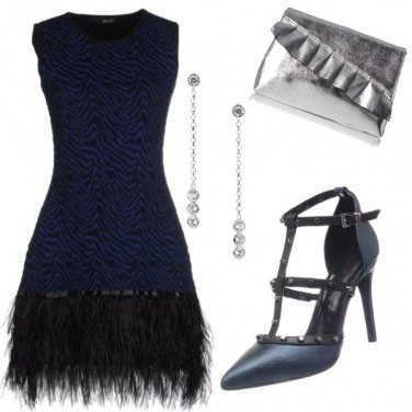 Outfit Blue chic