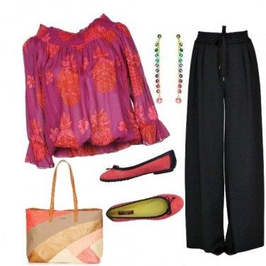 Outfit I pantaloni a palazzo