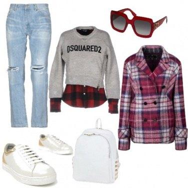 Outfit TSK Tartan