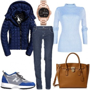 Outfit Shopping invernale