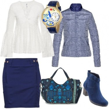 Outfit Relax in blu