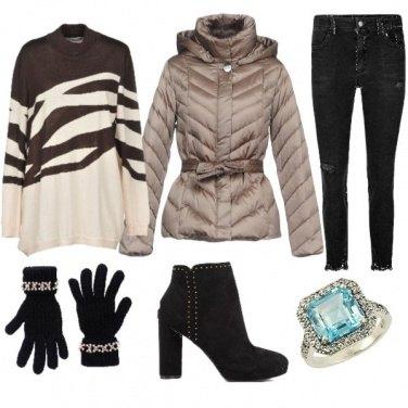 Outfit L\'anello sopra i guanti